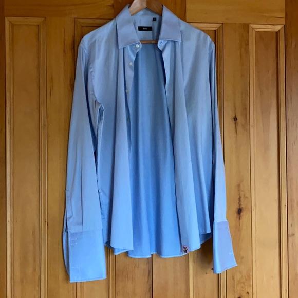 Size 40/16 Hugo boss button down dress shirt